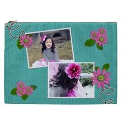 Cosmaetic Bag (xxl)   In Bloom By Jennyl   Cosmetic Bag (xxl)   P0bkgagx2et8   Www Artscow Com Front