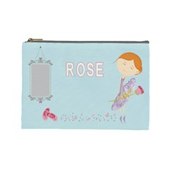 Cosmetic Bag By Kate   Cosmetic Bag (large)   C7gw71vbvyd5   Www Artscow Com Front