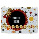 Tangerine Breeze XXL Cosmetic Bag 1 - Cosmetic Bag (XXL)