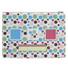 Bloop Bleep Xxl Cosmetic Bag 1 By Lisa Minor   Cosmetic Bag (xxl)   H5ca936ntmow   Www Artscow Com Back