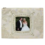 Wedding XXL Cosmetics Bag - Cosmetic Bag (XXL)