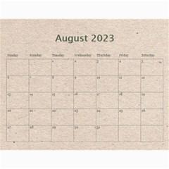 Fantasia Fab1 Classic Pink Frame 2015 Calendar By Catvinnat   Wall Calendar 11  X 8 5  (12 Months)   Z61edxrdesmj   Www Artscow Com Aug 2015
