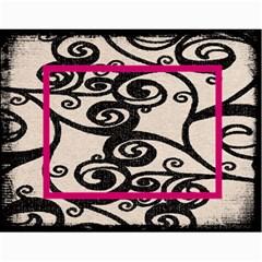 Fantasia Fab1 Classic Pink Frame 2015 Calendar By Catvinnat   Wall Calendar 11  X 8 5  (12 Months)   Z61edxrdesmj   Www Artscow Com Month