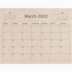Fantasia Fab1 Classic Pink Frame 2015 Calendar By Catvinnat   Wall Calendar 11  X 8 5  (12 Months)   Z61edxrdesmj   Www Artscow Com Mar 2015