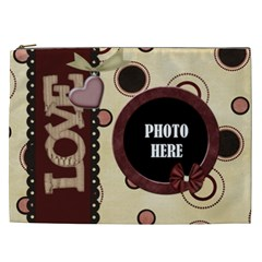 You ve Stolen My Heart Xxl Cosmetic Bag 1 By Lisa Minor   Cosmetic Bag (xxl)   Pe22yhj5jswi   Www Artscow Com Front