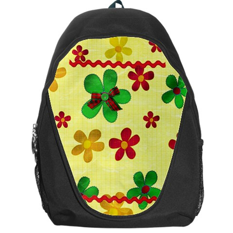 Backpack Bag Summer By Deca   Backpack Bag   K3sm88rlxob0   Www Artscow Com Front