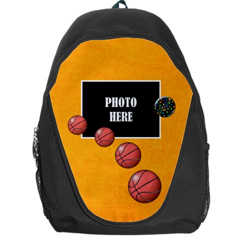 Wkm School Basketball Backpack By Lisa Minor   Backpack Bag   N80r50692xtu   Www Artscow Com Front