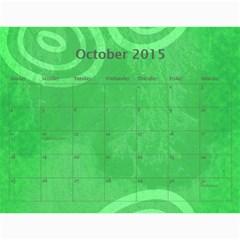 Calendar 2015 By Carmensita   Wall Calendar 11  X 8 5  (12 Months)   Cukxxh799akz   Www Artscow Com Oct 2015
