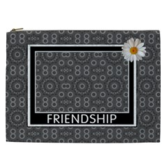 Friendship Xxl Cosmetic Bag By Lil    Cosmetic Bag (xxl)   52ki6wflmz72   Www Artscow Com Front