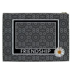 Friendship Xxl Cosmetic Bag By Lil    Cosmetic Bag (xxl)   52ki6wflmz72   Www Artscow Com Back