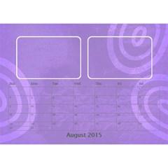 My Calendar 2015 By Carmensita   Desktop Calendar 8 5  X 6    Yjmqjpp4v1gk   Www Artscow Com Aug 2015