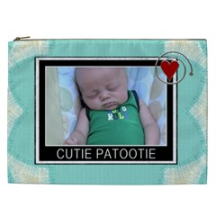 Cutie Patootie Xxl Cosmetic Bag By Lil    Cosmetic Bag (xxl)   Oawwkskbmy8e   Www Artscow Com Front