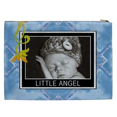 Little Angel Xxl Cosmetic Bag By Lil    Cosmetic Bag (xxl)   I5wvv5cqbsss   Www Artscow Com Back