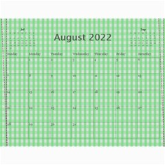 Calendar 2019 By Carmensita   Wall Calendar 11  X 8 5  (12 Months)   E68tdlqhsdw8   Www Artscow Com Aug 2019