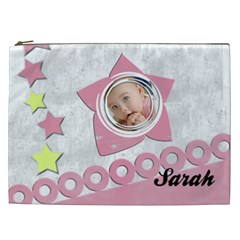 Sarah   Cosmetic  Bag Xxl By Carmensita   Cosmetic Bag (xxl)   Avonl5hgl5j0   Www Artscow Com Front