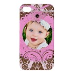 pink chocolate - Apple iPhone 4/4S Hardshell Case