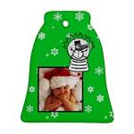Snowman christmas - Bell ornament - Ornament (Bell)