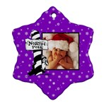 North Pole Christmas - Ornament - Ornament (Snowflake)
