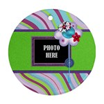 Monster Pary Round Ornament 2 - Ornament (Round)