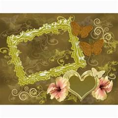 Butterflies N Frills  18 Month Calendar 2019 By Ellan   Wall Calendar 11  X 8 5  (18 Months)   Hvxjid3w0vyg   Www Artscow Com Month
