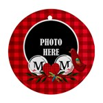 Mom Ornament 2 - Ornament (Round)