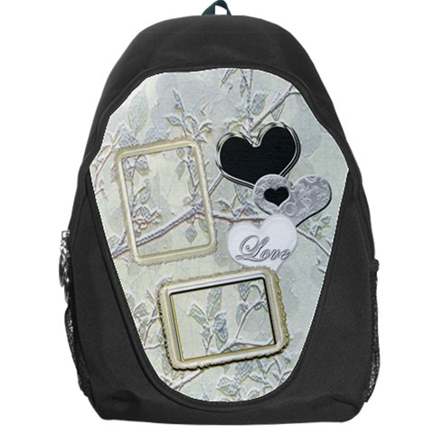 Wedding White Backpack By Ellan   Backpack Bag   83m4v54enu4g   Www Artscow Com Front