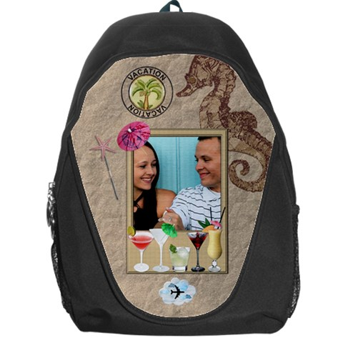 Vacation Backpag Bag By Lil    Backpack Bag   8j0mgyh0vhkp   Www Artscow Com Front