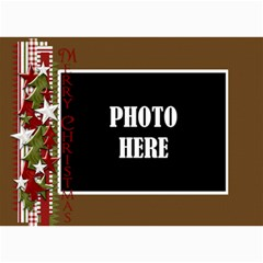 Christmas Clusters 5x7 Greeting Card 2 By Lisa Minor   5  X 7  Photo Cards   H2ugmd74vx1h   Www Artscow Com 7 x5 Photo Card - 8
