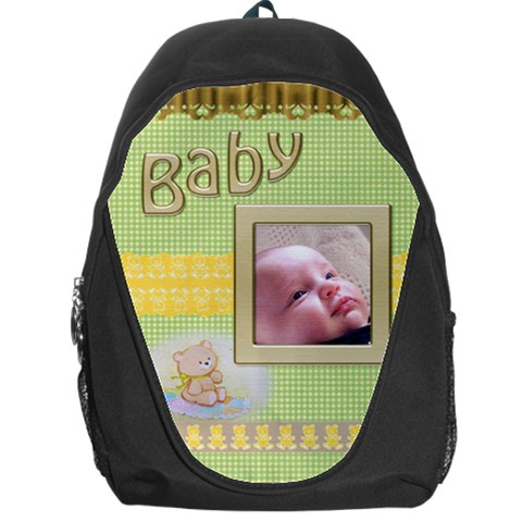 Baby Backpack Bag By Deborah   Backpack Bag   V2i2etfpbtbk   Www Artscow Com Front