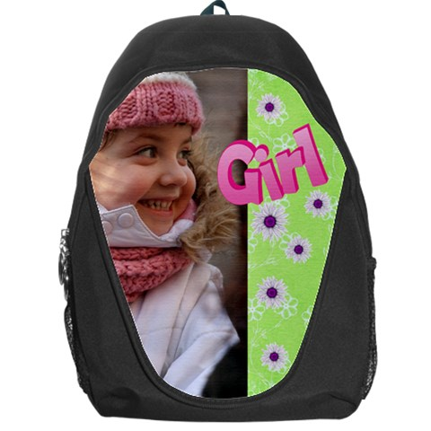 Girl Backpack Bag By Deborah   Backpack Bag   Pi05rwe5t50t   Www Artscow Com Front