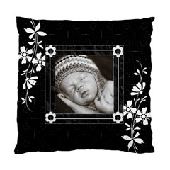 Black And White Cushion Case (2 Sided) By Lil    Standard Cushion Case (two Sides)   0ia11pmgv5dz   Www Artscow Com Front
