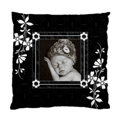 Black And White Cushion Case (2 Sided) By Lil    Standard Cushion Case (two Sides)   0ia11pmgv5dz   Www Artscow Com Back