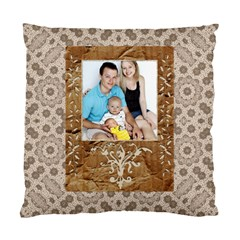Neutral Cushion Case (2 Sided) By Lil    Standard Cushion Case (two Sides)   F4ozr5yckx7o   Www Artscow Com Front