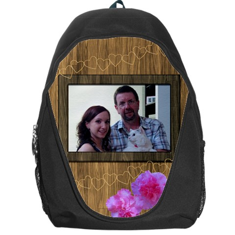 Little Wooden Backpack Bag By Deborah   Backpack Bag   6ljdvtetpcx8   Www Artscow Com Front