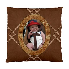 Brown Cushion Case (2 Sided) By Lil    Standard Cushion Case (two Sides)   F7jca643kmw2   Www Artscow Com Front