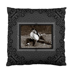 Charcoal Cushion Case (2 Sided) By Lil    Standard Cushion Case (two Sides)   Fcxps9tilx3z   Www Artscow Com Front