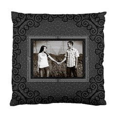Charcoal Cushion Case (2 Sided) By Lil    Standard Cushion Case (two Sides)   Fcxps9tilx3z   Www Artscow Com Back