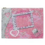 Spring flower floral baby pink Cosmetic Case XXL - Cosmetic Bag (XXL)