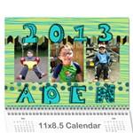 Aden 2013 Calendar - Wall Calendar 11  x 8.5  (12-Months)