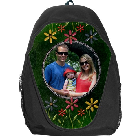 Nature Backpag Bag By Lil    Backpack Bag   C1cjvpj6maug   Www Artscow Com Front