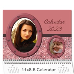 My Family Memories Wall Calendar By Deborah   Wall Calendar 11  X 8 5  (12 Months)   Bxvikovnav5u   Www Artscow Com Cover