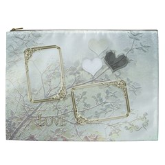 Wedding White Love Gift Bag  Xxl By Ellan   Cosmetic Bag (xxl)   Kl3uoenn421g   Www Artscow Com Front