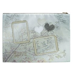 Wedding White Love Gift Bag  Xxl By Ellan   Cosmetic Bag (xxl)   Kl3uoenn421g   Www Artscow Com Back