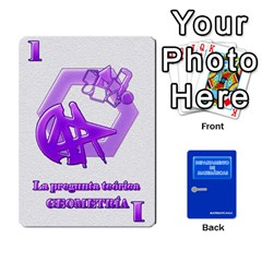 Departamento De Matemáticas By Matematicaula   Playing Cards 54 Designs (rectangle)   Pbuyvyrkti9o   Www Artscow Com Front - Spade9