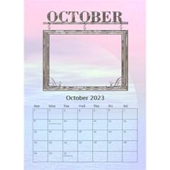 Sunset Desktop Calendar 6 x8 5  By Lil    Desktop Calendar 6  X 8 5    24rfiv9a0h4l   Www Artscow Com Oct 2015