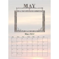 Sunset Desktop Calendar 6 x8 5  By Lil    Desktop Calendar 6  X 8 5    24rfiv9a0h4l   Www Artscow Com May 2019