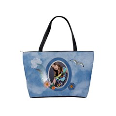 Sky Is The Limit Classic Shoulder Handbag By Lil    Classic Shoulder Handbag   R0il8cfufwzi   Www Artscow Com Back