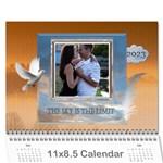 Inspiration Wall Calendar (12 mth) - Wall Calendar 11  x 8.5  (12-Months)