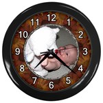 Autumn Wall Clock - Wall Clock (Black)