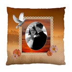 Romantic Orange Cushion Case (2 Sided) - Standard Cushion Case (Two Sides)